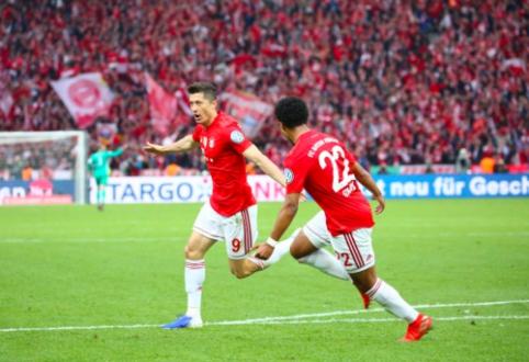"""""""Bayern"""" be didesnio vargo iškovojo Vokietijos taurę"""