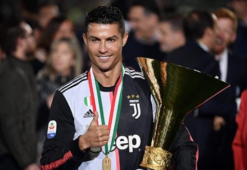 """C.Ronaldo pasiūlė savo kandidatą į """"Juventus"""" trenerio postą"""