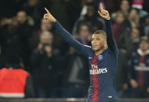 """""""Ligue 1"""": čempionato lyderiai triuškino varžovus"""