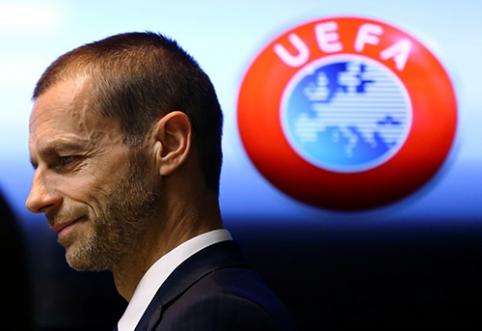 A.Čeferinas: neketiname griauti Europos futbolo