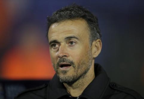 L. Enrique gali palikti Ispanijos rinktinės trenerio postą