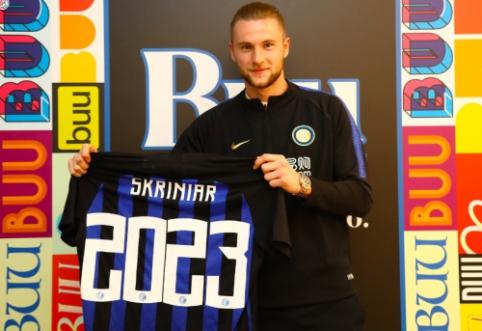 """M. Škriniaras susiejo ateitį su """"Inter"""""""