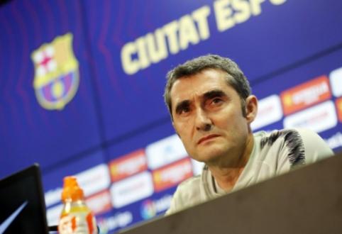 """E. Valverde apie savo ateitį: """"Jaučiu prezidento paramą"""""""