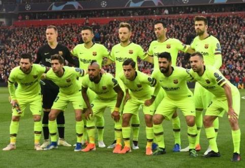 """""""Barcelona"""" planuoja atlikti valymą ekipoje"""