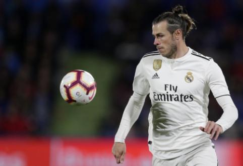 "G. Bale'o agentas: ""Jis nori likti ""Real"" gretose"""