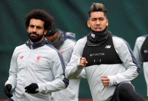 """""""Liverpool"""" prieš """"Barceloną"""" versis be M. Salah ir R. Firmino"""