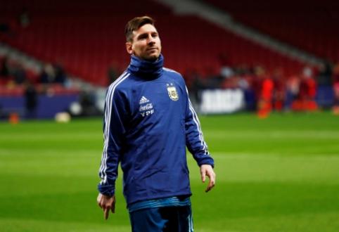 """V. del Bosque: """"Darėme viską, kad Messi rungtyniautų Ispanijos rinktinėje"""""""