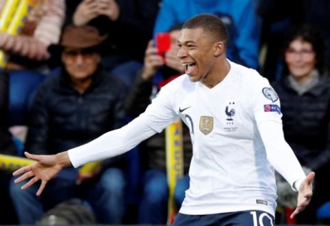 K. Mbappe nepasirašys naujo kontrakto su PSG