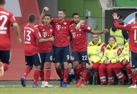 """Paskelbtas Bundeslygos tvarkaraštis: """"Bayern"""" startuos maču namuose prieš """"Hertha"""""""