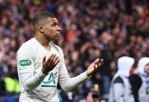 """Madrido """"Real"""" planus įsigyti K. Mbappe perkels į 2020-ųjų vasarą"""
