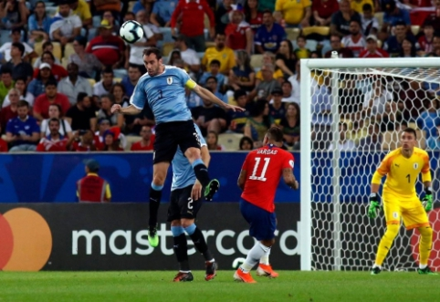 "Aiškios ""Copa America"" ketvirtfinalio poros"