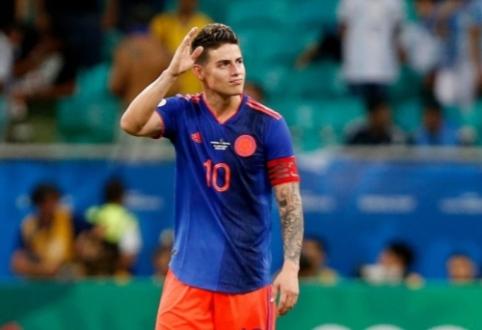"""J. Rodriguezas apie savo ateitį: """"Viskas priklauso nuo Madrido """"Real"""""""