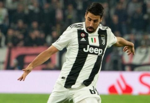 """""""Juventus"""" ruošiasi atsisveikinti su S.Khedira"""