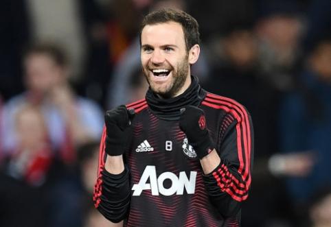 """J. Mata pasirašė naują kontraktą su """"Man Utd"""""""