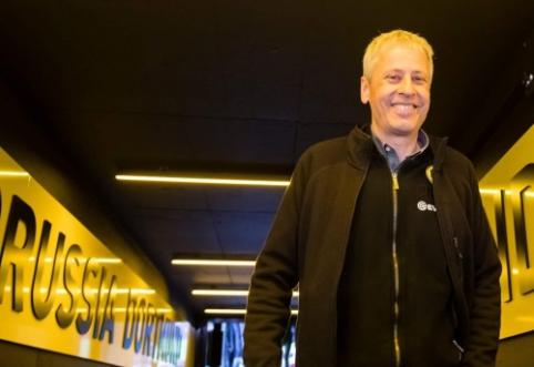BVB pratęsė kontraktą su vyriausiuoju treneriu