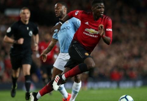 """""""Sky Sports"""": """"Man Utd"""" neturi jokių minčių apie P. Pogba pardavimą"""