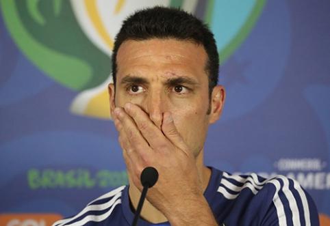"L.Scaloni: jei laimėsime ""Copa America"", baigsiu savo karjerą"