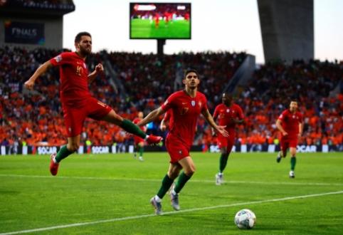 Tautų lygos finale – Portugalijos rinktinės triumfas