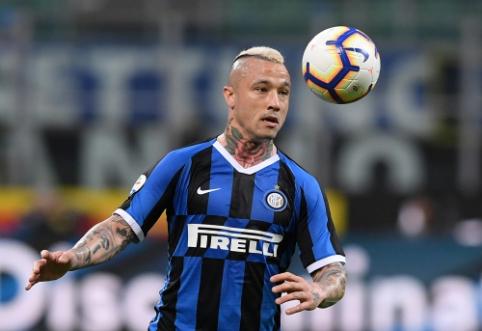 """R. Nainggolanas paneigė gandus apie galimą išvykimą iš """"Inter"""""""