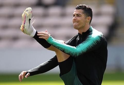 F.Santosas: C.Ronaldo įspūdingus pasirodymus rengs dar 3-4 metus