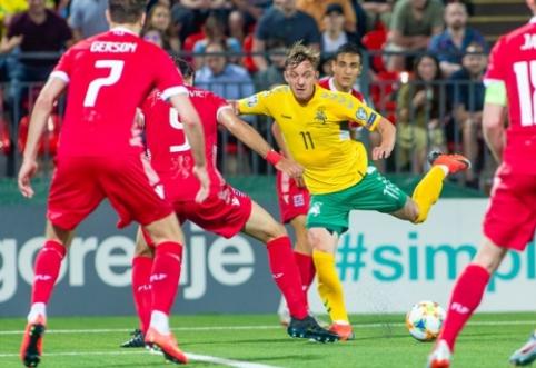 Devyniese rungtynes užbaigę lietuviai išplėšė tašką prieš Liuksemburgą