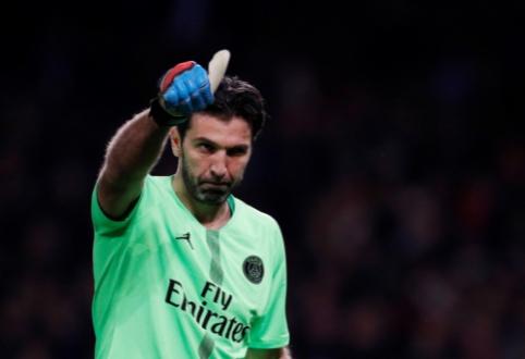 """Oficialu: G. Buffonas palieka Paryžiaus """"Saint-Germain"""""""