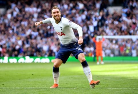 """C. Eriksenas pasiruošęs palikti """"Tottenham"""" ekipą"""