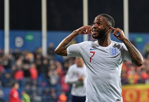 R.Sterlingas: norėčiau su Anglijos rinktine laimėti trofėjų