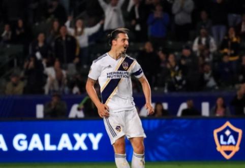 MLS pirmenybėse – fantastiškas Z. Ibrahimovičiaus įvartis