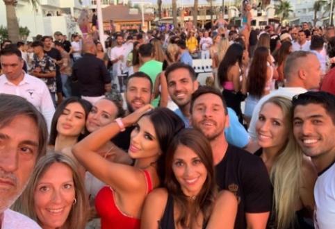 L. Messi atostogos Ibisoje: šokiai ir konfliktas su nepažįstamuoju