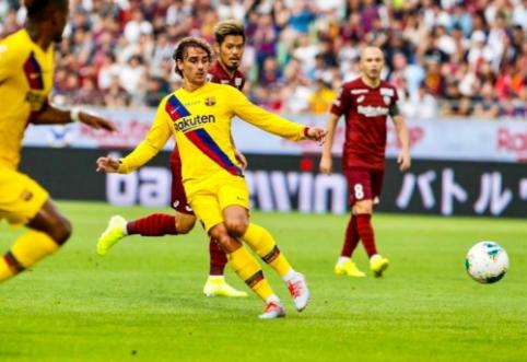 """""""Barcelona"""" auklėtinio įvarčiai nulėmė pergalę prieš A. Iniestos klubą"""