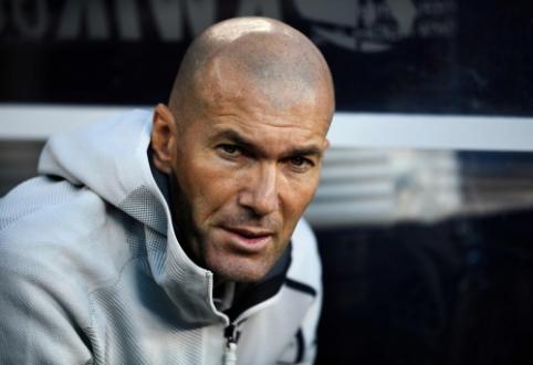 """Z. Zidane'as nepanikuoja: """"Mūsų laukia geras sezonas"""""""