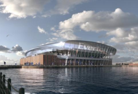 """""""Everton"""" ruošiasi įspūdingo stadiono statyboms"""