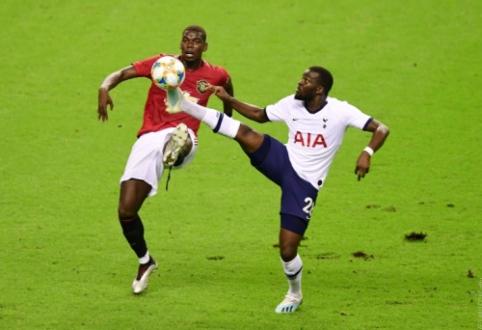 """""""Man Utd"""" tęsia pergalingą pasiruošimą sezonui: įveikta """"Tottenham"""" ekipa"""