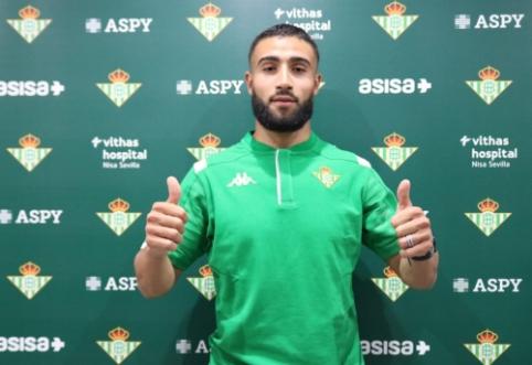"Oficialu: N. Fekiras papildė ""Real Betis"" gretas"