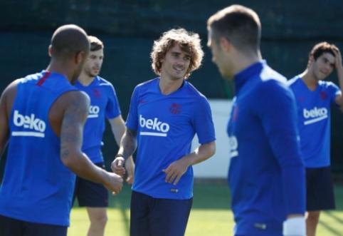 """E. Valverde: """"Tikimės, kad Griezmannas duos greitos naudos"""""""