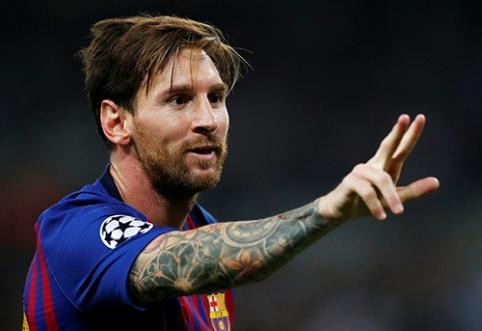 POP: L.Messi nusiskuto barzdą