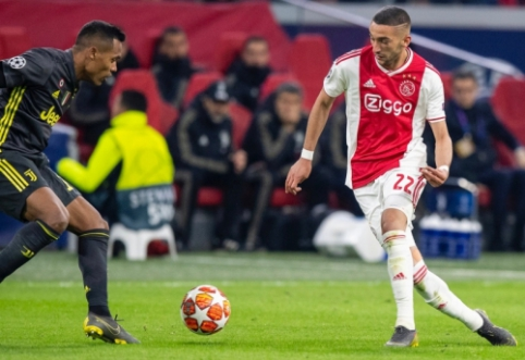 """""""Ajax"""" direktorius paragino """"Arsenal"""" įsigyti H. Ziyechą"""