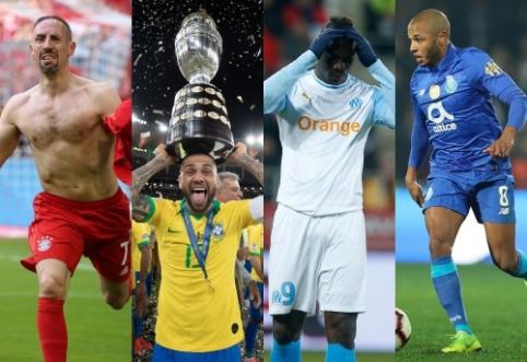 Klubams nereikėtų snausti: 30 geriausių šios vasaros laisvųjų agentų