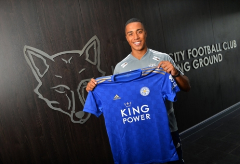 """Oficialu: """"Leicester"""" už rekordinę klubui sumą įsigijo į Y. Tielemansą"""