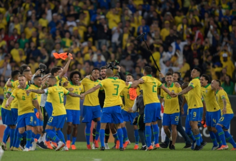 "Aistringame ""Copa America"" finale – brazilų triumfas"
