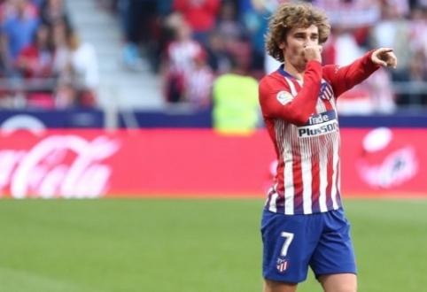"""""""Atletico"""" patvirtino: A. Griezmannas su """"Barcelona"""" susitarė dar kovo pradžioje"""