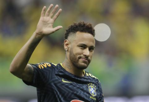 """Rafinha: """"Tikiuosi, kad Neymaras sugrįš į Barseloną"""""""