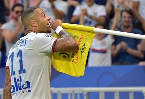 """Ligue 1"": ""Lyon"" neįveikė ""Bordeaux"" ekipos"