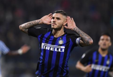 """M. Icardi imasi teisinių priemonių prieš """"Inter"""" klubą"""