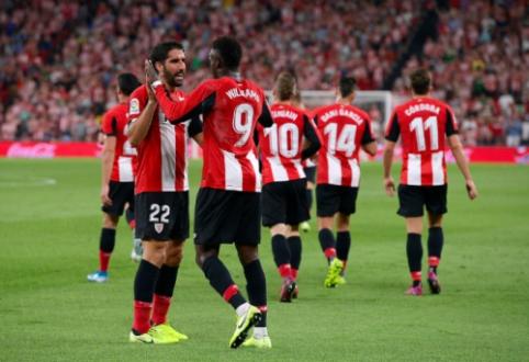"""""""La Liga"""": """"Sevilla"""" prarado pirmuosius taškus, baskų derbį laimėjo """"Athletic"""""""
