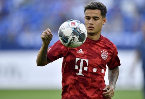 """R.Lewandowskis: """"Coutinho atvykimas pakeitė """"Bayern"""" komandą"""""""