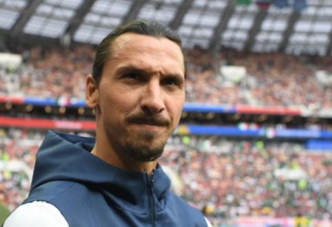 """Z. Ibrahimovičius: """"Vis dar galėčiau žaisti """"Premier"""" lygoje"""""""