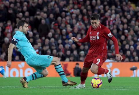 """""""Liverpool"""" – """"Arsenal"""": įvarčių kruša """"Anfield"""" stadione (įdomūs faktai)"""