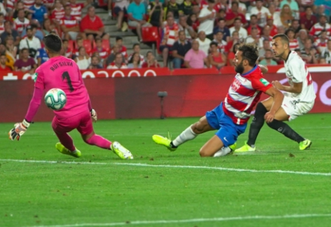 """""""La Liga"""": """"Sevilla"""" įsirašė antrąją pergalę, """"Levante"""" palaužė """"Villarreal"""""""